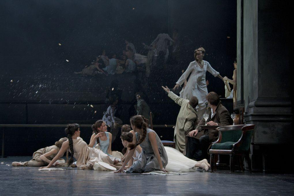 A la MC93 en 2014 le théâtre Vakhtangov avec Eugène Onéguine mise en scène Rimas Tuminas