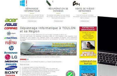 Nouveau site Dépannage Informatique