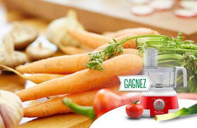 Gagnez un robot de cuisine Moulinex avec Knorr