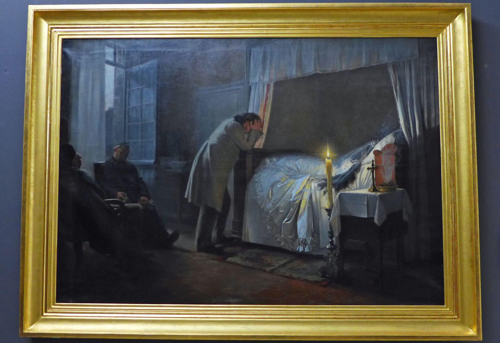 Albert Fourié (1854-1937), La Mort de Madame Bovary (1883).