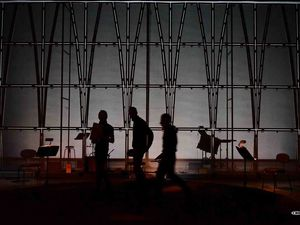 CAMPO SANTO, spectacle sensoriel imaginé par Jérôme COMBIER et Pierre NOUVEL, première à la Scène nationale d' ORLEANS