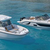 Powerboats - Bénéteau announces the Flyer 9 in 2 layout versions - Yachting Art Magazine