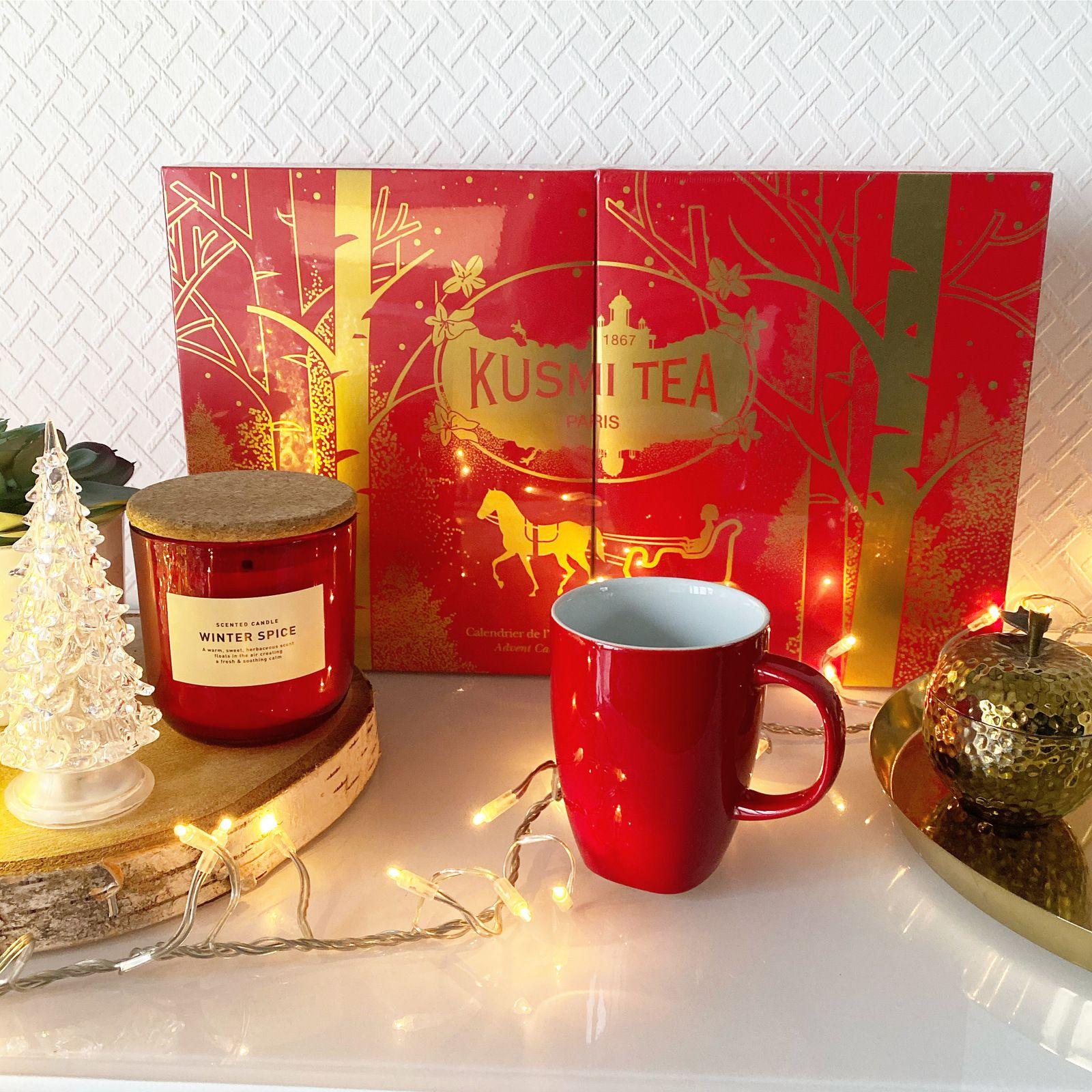 Calendrier délavant KUSMI TEA