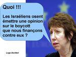 L'Union européenne - principale pourvoyeuse de fonds pour la délégitimation et de l'industrie de la haine contre Israël