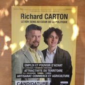 Vierzonitude interroge les candidats : pour Richard Carton, la réserve parlementaire doit servir à la création d'emploi uniquement - Vierzonitude