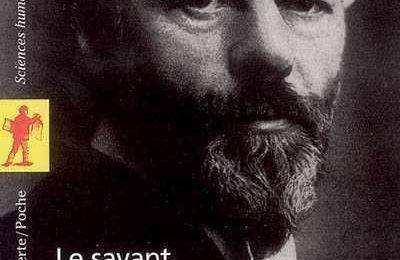 Fiche de lecture. Le Savant et le Politique de Max Weber