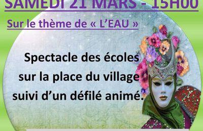 Carnaval à Gagnac le 21 Mars 2015 !!!