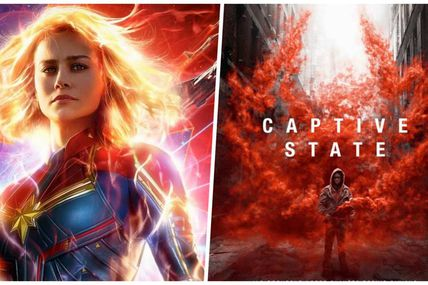 BOX-OFFICE 15-17 MARS : CAPTAIN MARVEL S'ENVOLE, CAPTIVE STATE SE PLANTE