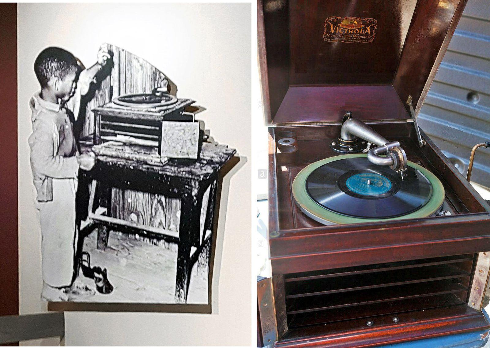 Memphis Rock'n'Soul Museum Victrola