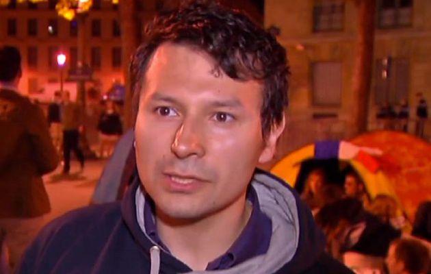 """David Van Hemelryck, l'un des leaders du Printemps français, et créateur de """"Hollande démission"""" démissionne..."""
