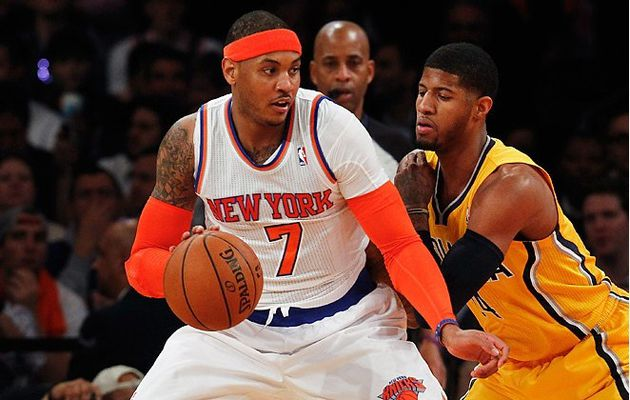 Melo and the Knicks humiliate Pacers