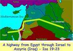 La route d'Esaïe 19