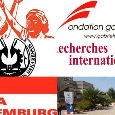 Colloque sur les relations entre l'Afrique et l'Europe : Néolibéralisme, paix et développement