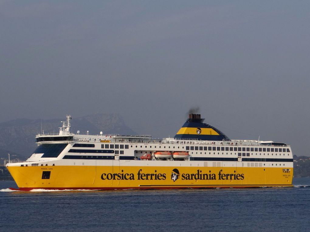 PASCAL LOTA , arrivant a Toulon le 02 octobre 2017