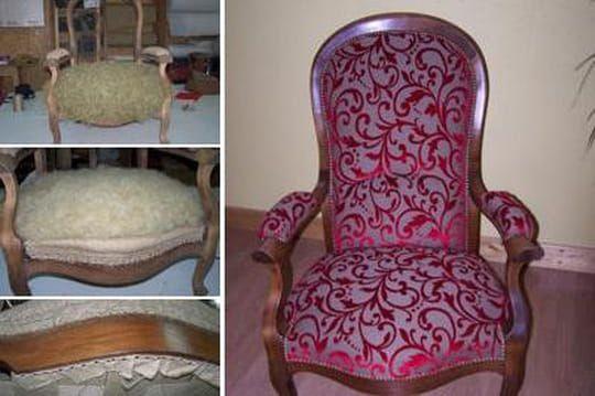 Restaurer un fauteuil