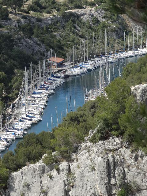 Calanques de Port Miou, Port Pin, En Vau...
