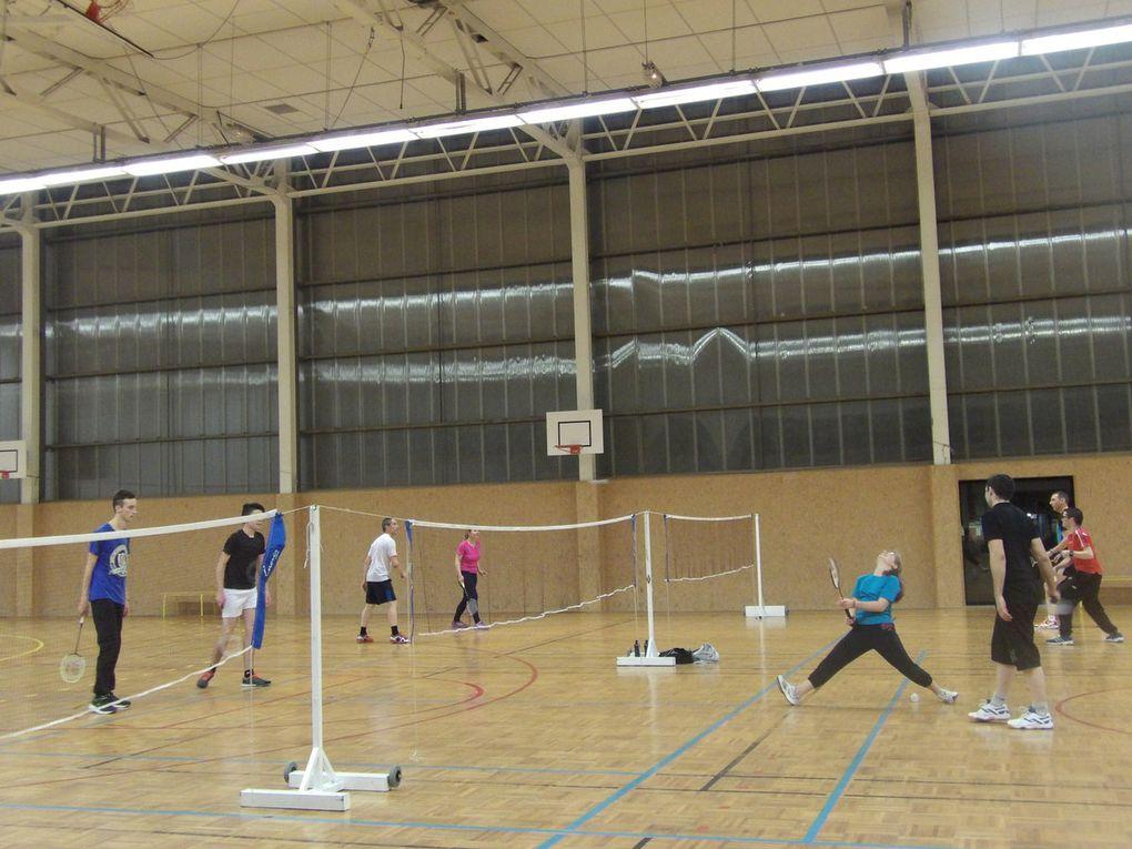 Badminton. Rencontre interclub.