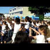 flashmob kermesse école St Marceau 2015