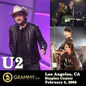 U2 - Grammy Awards - Center - Los Angeles -Californie 08-02-2006 - U2 BLOG