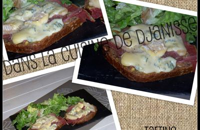 TARTINE AUVERGNATE