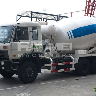 Consisting of a cement mixing truck