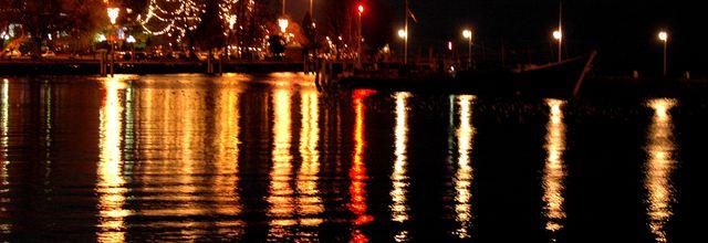 Lumières ... sur le lac ....