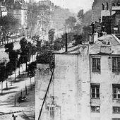 Le boulevard du Temple, la première photo où apparaît un humain ?