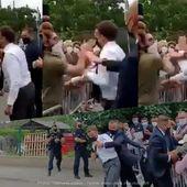 Emmanuel Macron giflé lors de son déplacement à Tain-l'Hermitage ! (Vidéos) #Macron #GifleMacron - SANSURE.FR