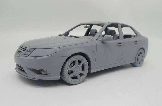 1/18 : DNA Collectibles miniaturise la Saab 9-5 berline