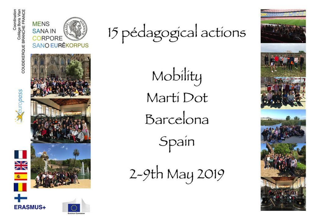 SMSP19 - 15 pedagogical actions in Barcelona
