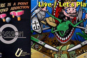 Live / Let's Play Amiga - Obsession (simulation de flipper)