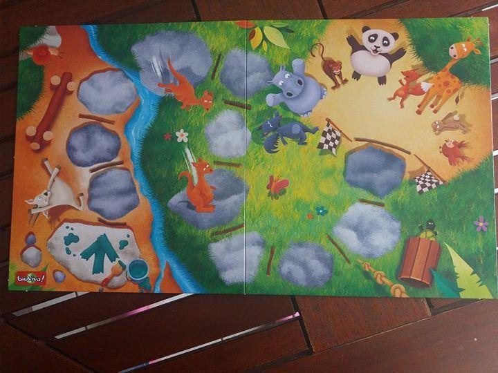 Gym Animo ! un jeu qui a la bougeotte avec Bioviva pour les petits et les grands !