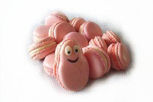 Macarons barbapapa à la meringue italienne