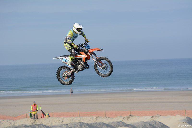 LE BEACH CROSS DE BERCK...avec UN BEAU SPECTACLE DES MOTOS ...