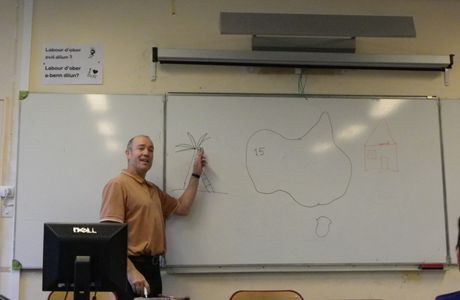 DAVID PALMER IN CLASS