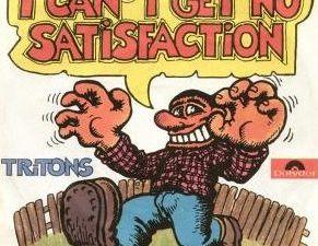 """tritons, un quintet pop-rock-punk avec une version étonnement décontractée du morceau """"I can't get no satisfaction"""" des rolling stones"""