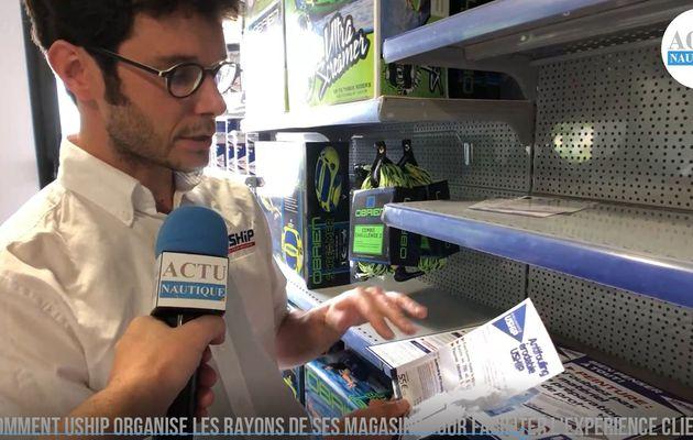 Comment Uship organise les rayons de ses magasins pour faciliter l'expérience client