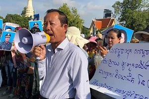 Solidarité syndicale internationale avec le Cambodge