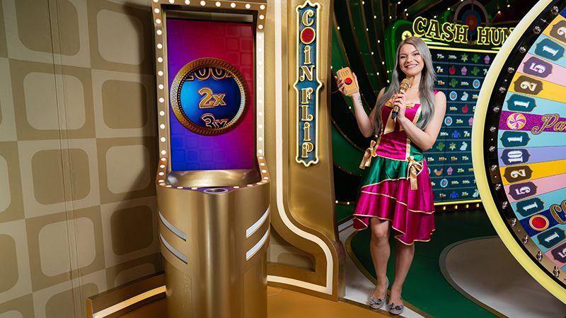 jeu casino en ligne live Crazy Time jeu bonus Coin Flip