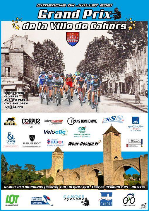 Dimanche, Grand Prix de la ville de Cahors