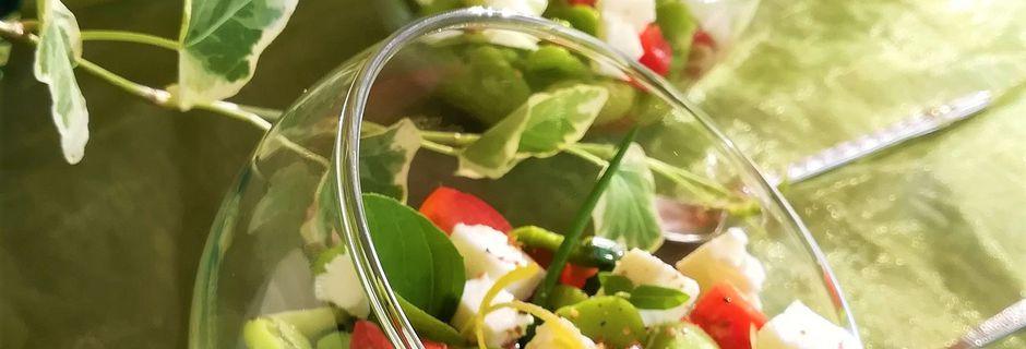 Salade de Fèves à la Feta & aux Herbes Fraîches