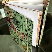 Tuto: Note Book ou Carnet à notes/voyages - Créer Soi Même