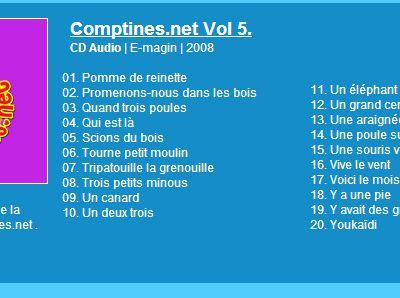 Concours #26 : Avec Comptines.net