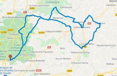 Plailly La Ferté-Milon Villers-Cotterêts St-Jean-aux-Bois 2021