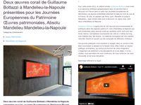 Guillaume Bottazzi  - Oeuvre Patrimoniale