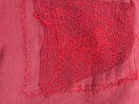 raccommoder retouche couture de pantalon d'enfant déchiré #raccommodage #pantalon #retouche #charlotteblablablog