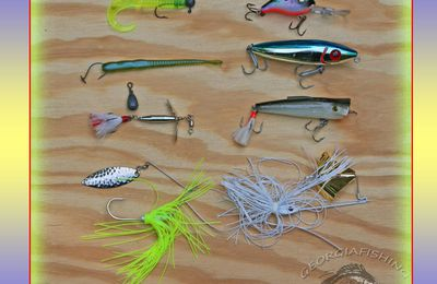 Fishing lure - Artificial fishing bait to attract fish