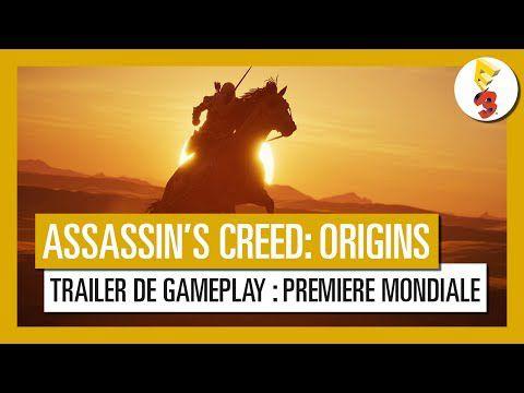 ACTUALITE : #AssassinsCreedOrigins sera bien en Egypte #trailer, #gameplay et infos!!!