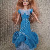 tuto gratuit barbie: robe premier bal - Chez Laramicelle