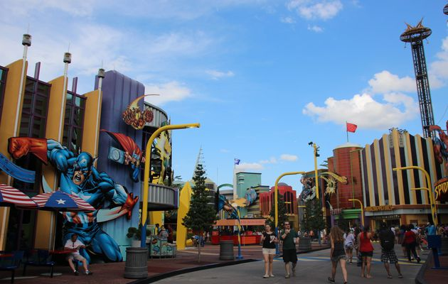 Marvel Super Hero Island : Universal's Island of Adventure